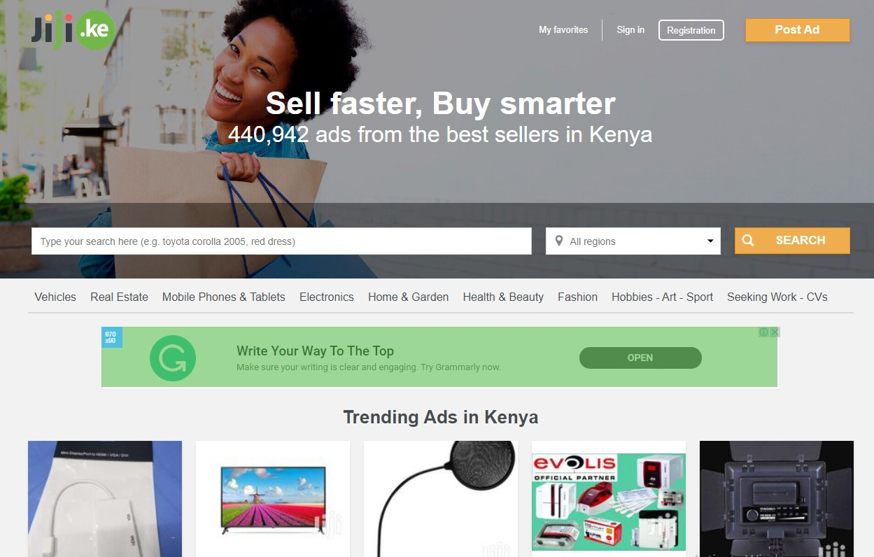 Sell Used Items on Classified Websites