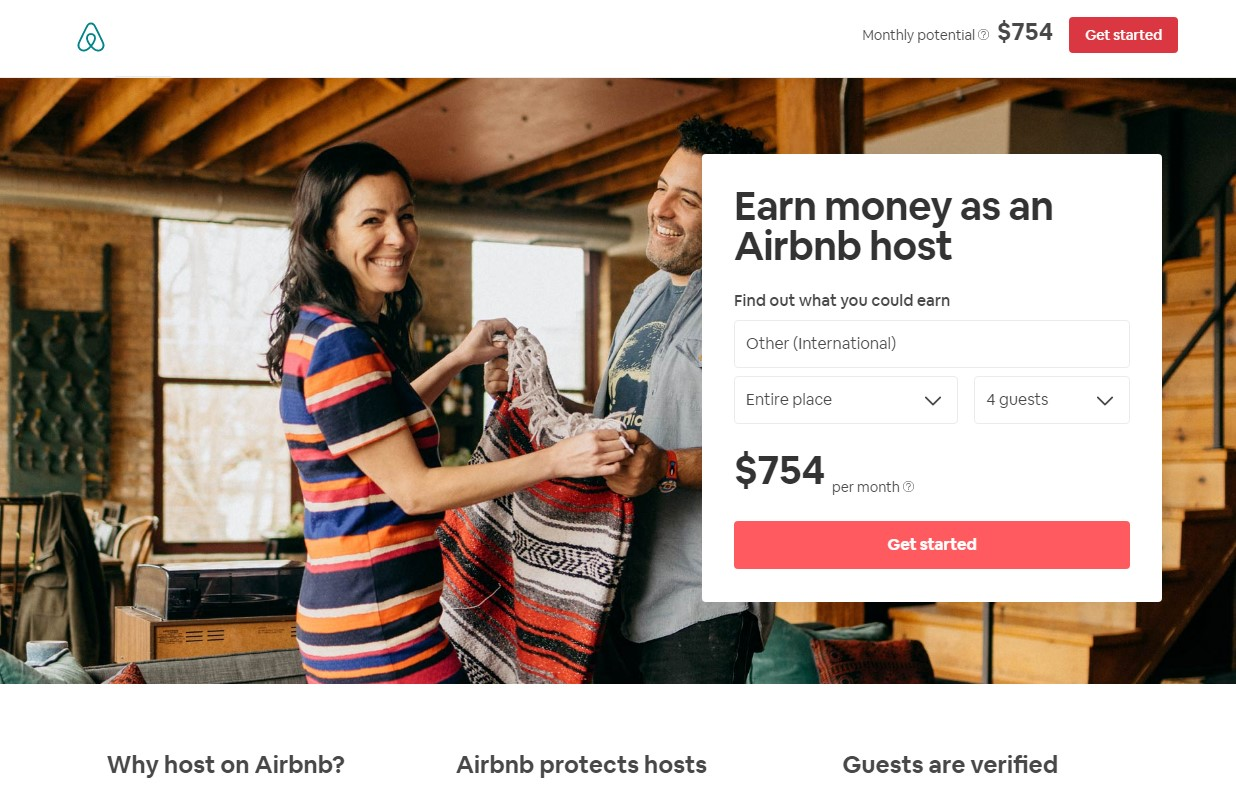 Unique Side Hustle Ideas Earn with Airbnb