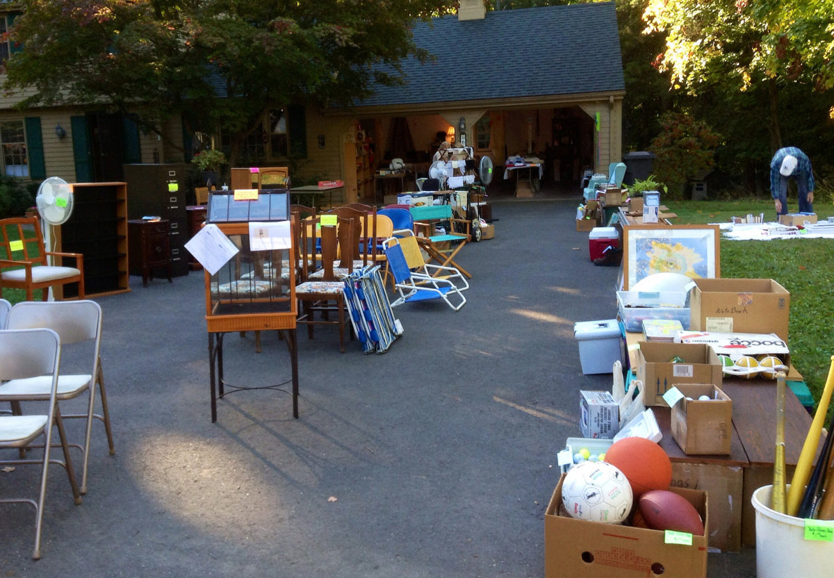 Unique Money Ideas Example of a Garage Sale by Bring me the News